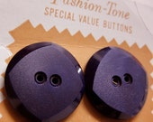 6 large purple buttons