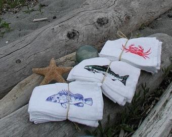 Rockfish  napkin sets