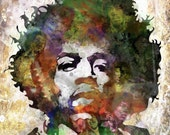Hendrix - King Of The Gypsies canvas print
