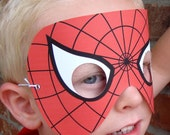 SUPERHERO MASK. Choose ONE character. printable .pdf file, wearable. Print and Cut. One-size-fits-all. Choose your colors.
