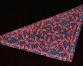 4th of July collar scarf - size LARGE