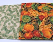 Quilted Table Runner, Fall / Winter, Reversible, 42 in. x 11 in.