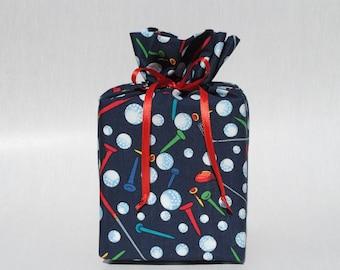Golf  Kleenex Box Cover Golf Tissue Box Cover Kleenex Box Holder Tissue Box Holder Sports Bathroom Decoration Navy Blue Bathroom Accessories