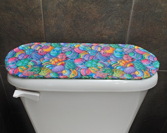 Toilet Tank Cover St. Patrick's Day Toilet Tank Cover Easter Toilet Tank Cover Reversible Easter Bath Decor Quilted Toilet Tank Cover