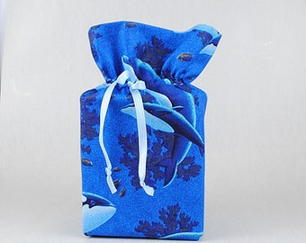 Whales Tissue Box Cover Dolphins Tissue Box Holder Blue Bathroom Accessories Dolphins Whales Bathroom Decoration Blue Kleenex  Box Holder
