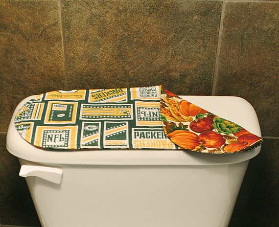 Superior Green Bay Packers Bathroom Accessories, Football Toilet Tank Cover,  Sports/Football Bathroom Decoration