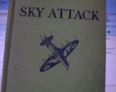 Vintage A lucky Terrell Flying Story Sky Attack
