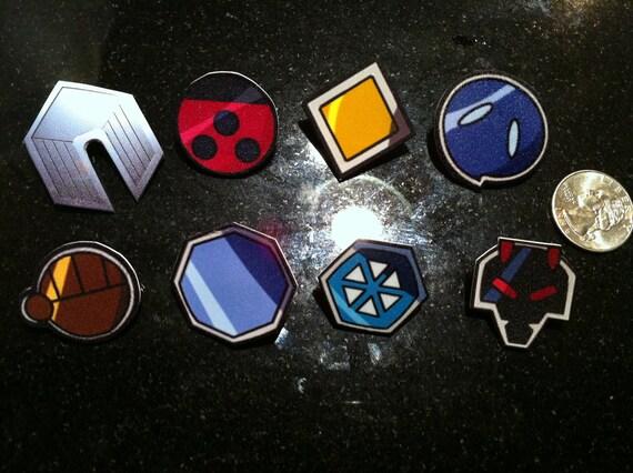Johto League  / Gen II Pokemon Badge Set