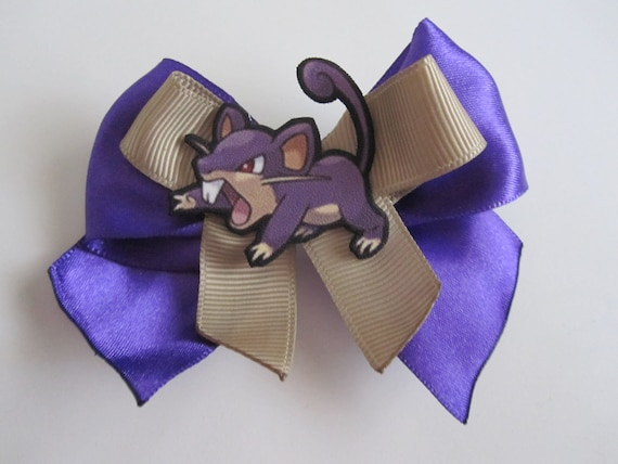 Rattata Hair Bow