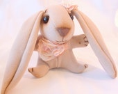 sweet cloth bunny rabbit - FREE shipping Etsy