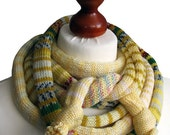 The Vanilla SSScarf (the SSSnake SSSleeping Bag), OOAK, Ready to Ship