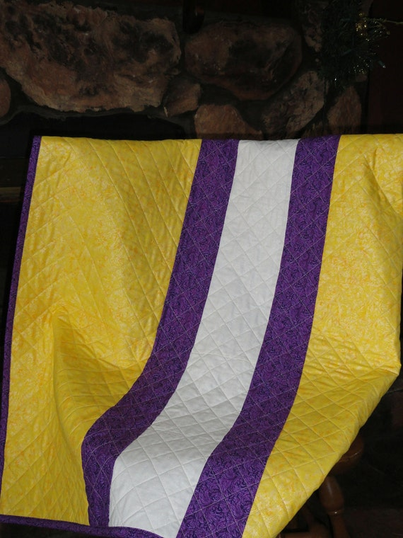 Stripes of Pride Purple and Gold