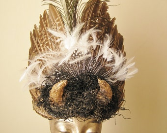 Feather Headdress - Running with the Bulls