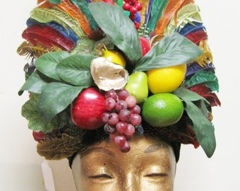 The Cajun Carmen Headdress
