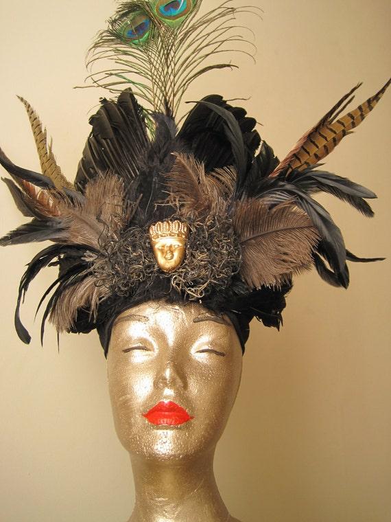 Zulu Warrior Headdress Zulu Warrior Feathered