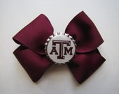 Texas A&M Bottlecap Bow