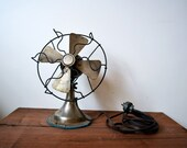 """GIFTS FOR HIM -- 10"""" Vintage Star Rite Fan"""