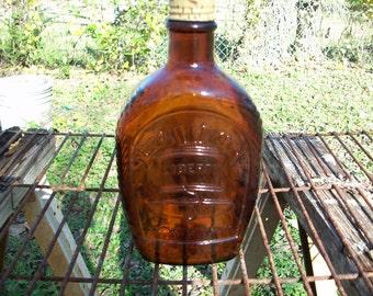 Log Cabin Liberty Bell Bicentennial Syrup Bottle