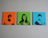 Dr. Horrible's Sing Along Blog Paintings