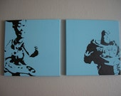 Buzz and Woody Paintings