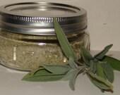 Infused Celtic Grey Sea Salt with Sage 2.5oz Refill Pack