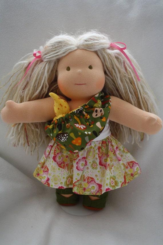 Reversible Waldorf Doll Sling