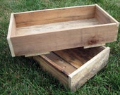 wooden CRaTe...wedding centerpiece...storage... Wreckd on Etsy ... upcycled wood