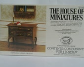 Chippendale Lowboy Kit From House Of Miniatures Collectors Series