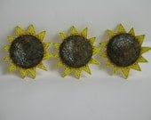 Hand Painted Sunflower Cutouts