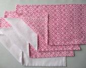 Girly Burp Cloth Gift Set