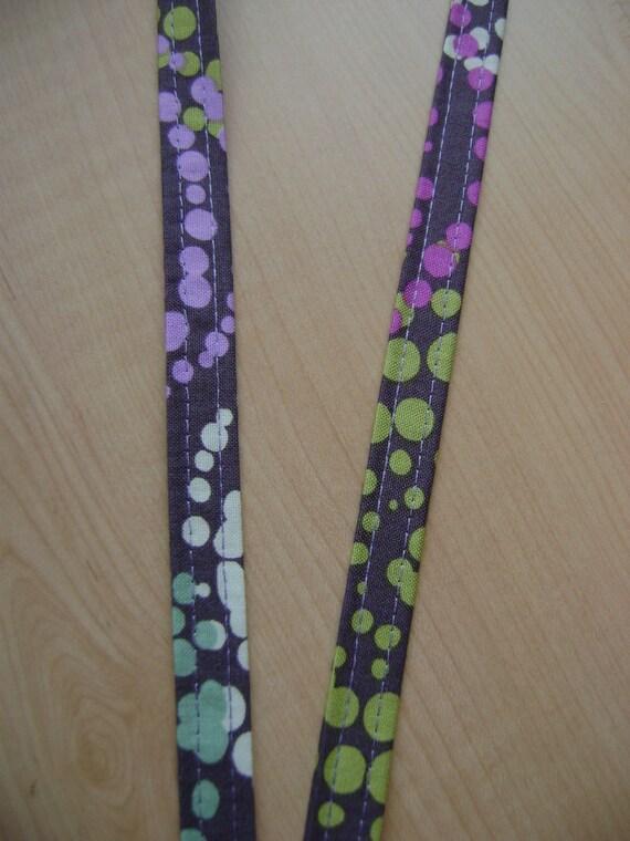 Dotty Fabric Lanyard