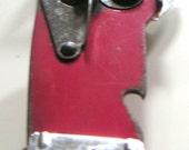 Vintage Red Dazey Can Opener. Wall Mount. Kitchenware, Kitchen Gadgets, Tools