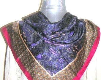 Vintage Silk Scarf by Anne Klein. FREE Shipping