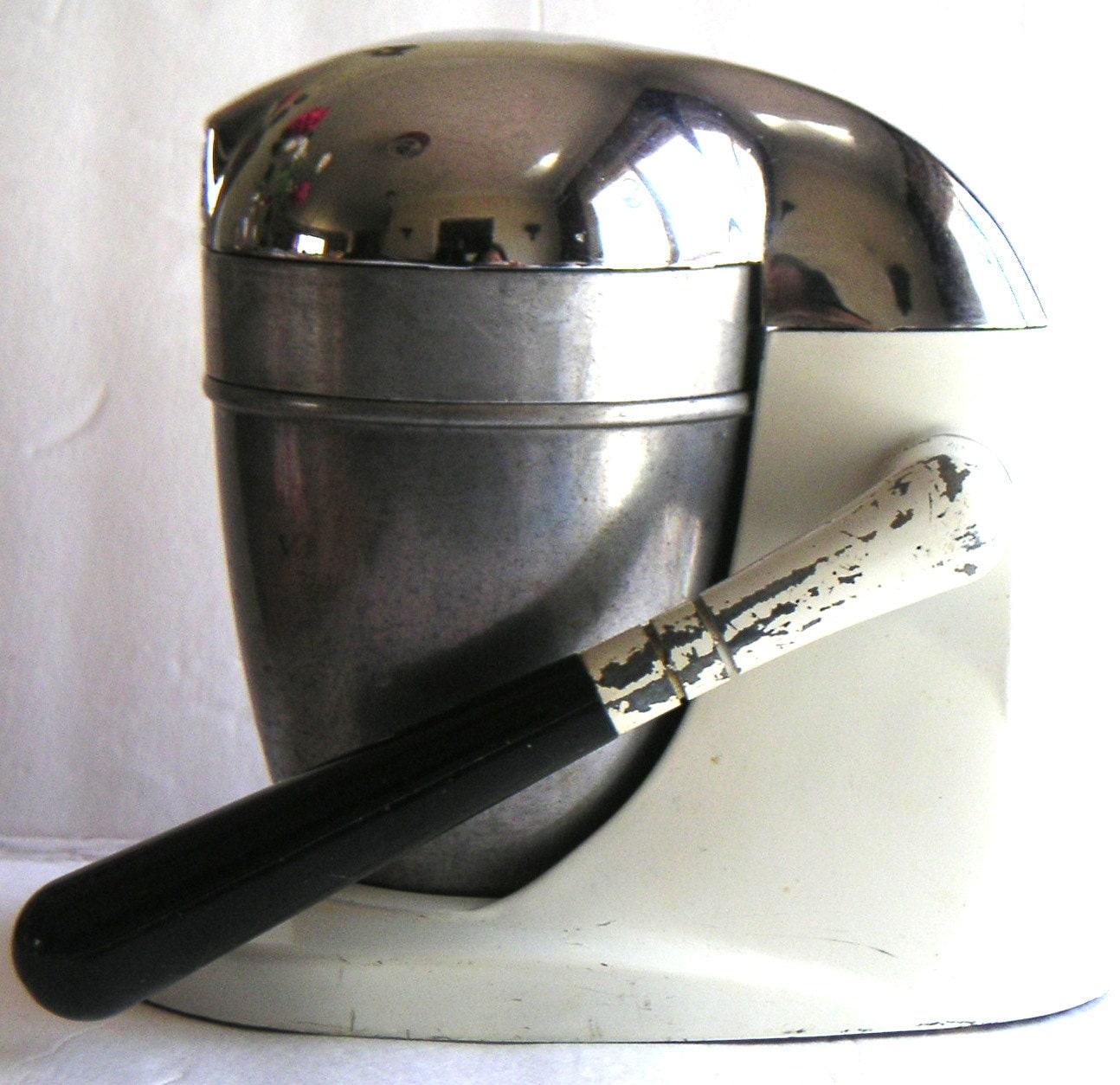 Hand Crank Blender ~ Vintage juice king hand crank juicer fresh squeezed