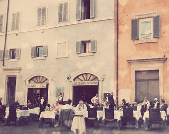 Rome Italy Photo Art Photography Fine Print Dining