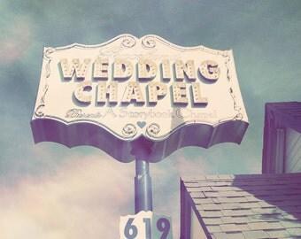 Las Vegas Print, Las Vegas Chapels, Las Vegas Photo, Vegas Photography, Vegas Wedding Chapel, Lavender Decor, Wedding Chapel Photo