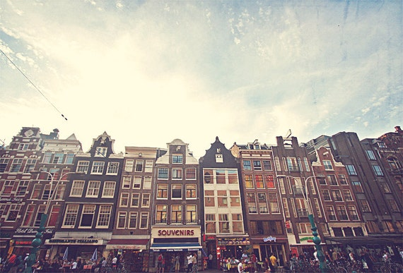Amsterdam Photo, Amsterdam Art, Netherlands Photo, Wall Art Print, Amsterdam Cityscape, Netherlands, Dutch Architecture, Amsterdam Skyline