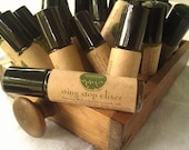 Itchy Skin Relief, Herbal Sting Stop Elixir, Vegan, Essential Oils and Organic Herbs