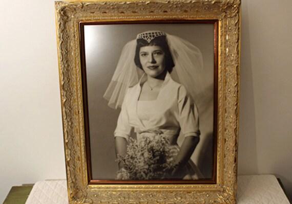Vintage Ornate Wood Frame