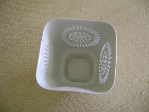 Arabia of Finland Porcelain  Rice Vase, Vintage