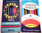 Vintage Colored Pencils Venus Crayon Pencils
