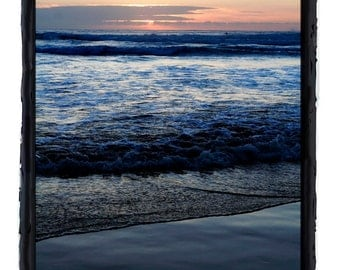 Ocean at Sunset on the Oregon Coast Fine Art Print Photography by Jonah Gilmore