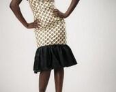 One shoulder bustier dress - size 6 (SALE item)