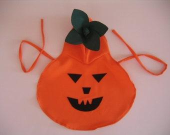 Pumpkin Pet Costume-Medium