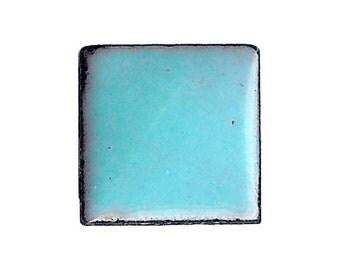 1410 Robin's Egg (Blue-Green) Opaque Lead-free Powdered Glass Enamel 1oz.