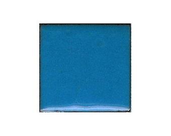 1522 French (Green-Blue) Opaque Lead-free Powdered Glass Enamel 1oz.