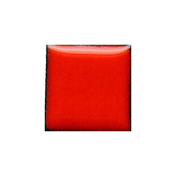 1860 Flame Orange (Yellow-Orange-Red) Opaque Lead-free Powdered Glass Enamel 1oz.