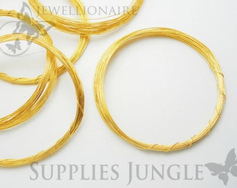 A117-G// 14k Gold Plated 33 Gauge Wire, 30M