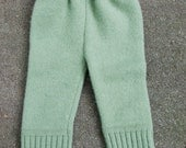 Upcycled ((Wool-blend)) Winter Baby Pants