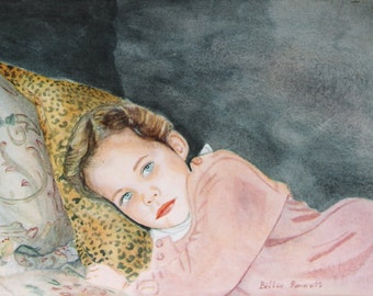 Custom Watercolor Portraits of your loved ones or pets.